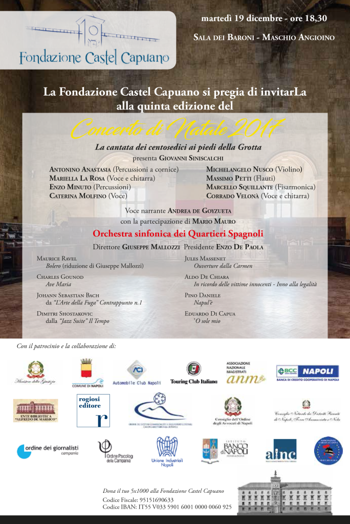 Invito-Concerto-di-Natale-2017-Fondazione-Castel-Capuano